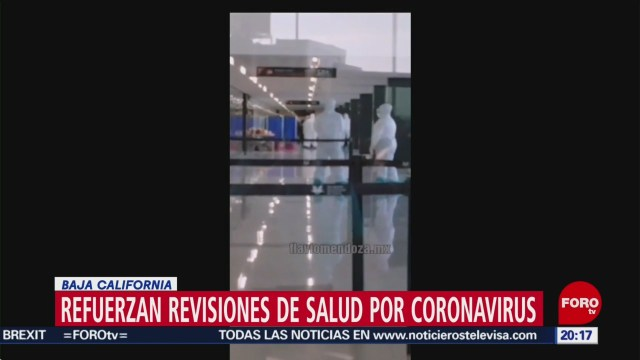 Foto: Coronavirus Refuerzan Seguridad Aeropuerto Tijuana 23 Enero 2020