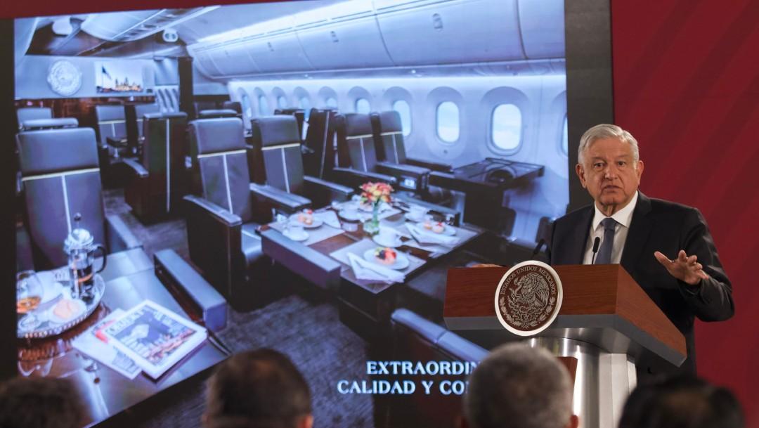 Propone el presidente rifar el avión presidencial - Política