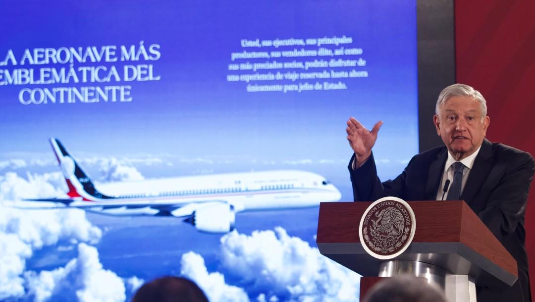 Yo compro un boleto: Cabada por rifa de avión presidencial