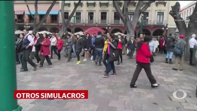 Foto: Primer Macrosimulacro Trajo Recuerdos Otros Sismos 20 Enero 2020
