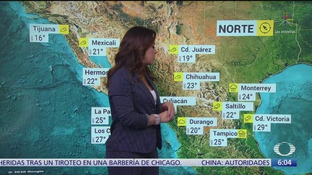 pronostican lluvias en coahuila puebla veracruz oaxaca y chiapas