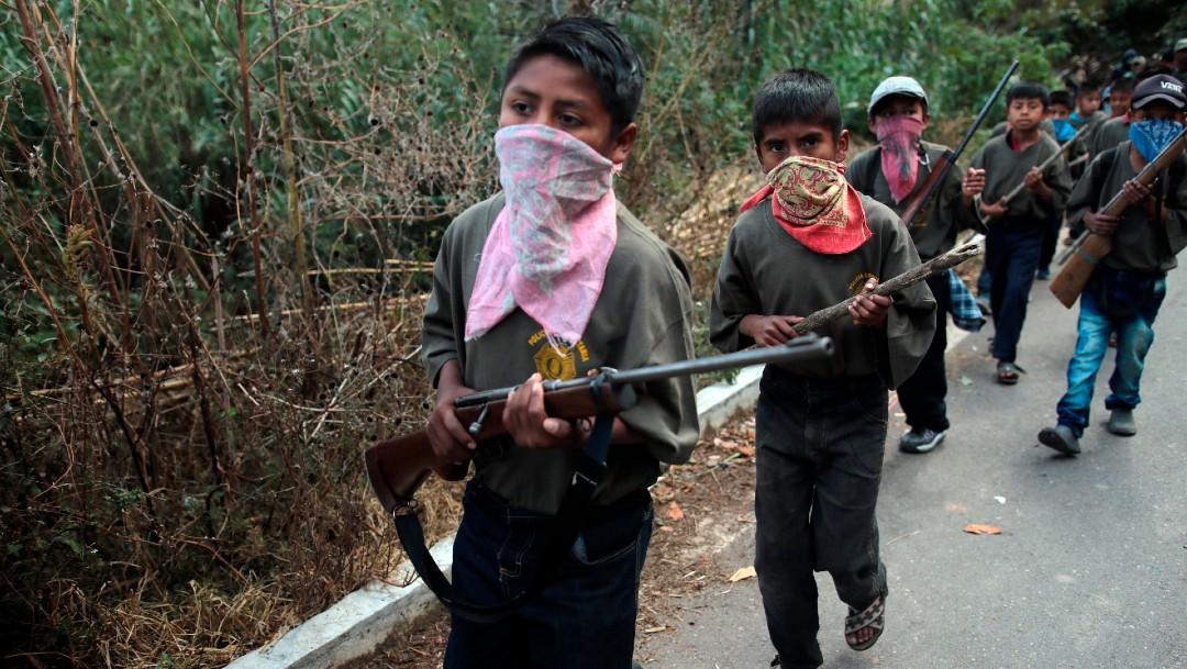 Rechaza UNICEF reclutamiento de niños en grupos armados
