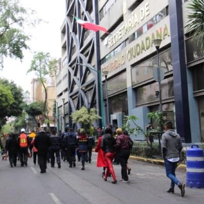 FOTO: Participaron 50 millones de mexicanos en Macrosimulacro: Durazo, el 20 de enero de 2020