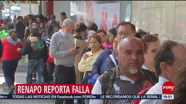 Foto: Curp Validación Renapo Reporta Falla Proceso 17 Enero 2020