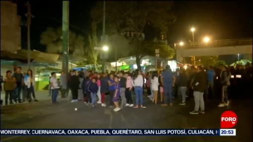 Foto: Bloqueo Calzada México-Tacuba Reportan Hoy 27 Enero 2020