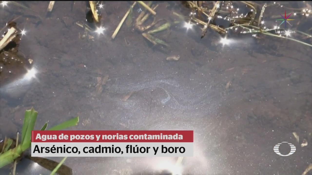 Foto: Contaminación Arsénico Pozos Agua Coahuila 10 Enero 2020