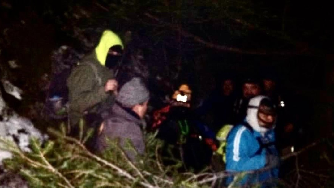 Rescatan 11 ancianos extraviados sierra La Martha, Coahuila