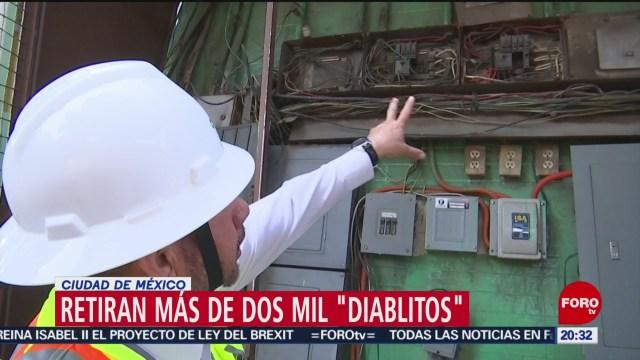 Foto: Diablitos Mercados Estaciones Electricas Mercados CDMX 23 Enero 2020