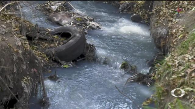 Foto: Río Atoyac Infierno Ambiental Afecta Tlaxcala Puebla 21 Enero 2020
