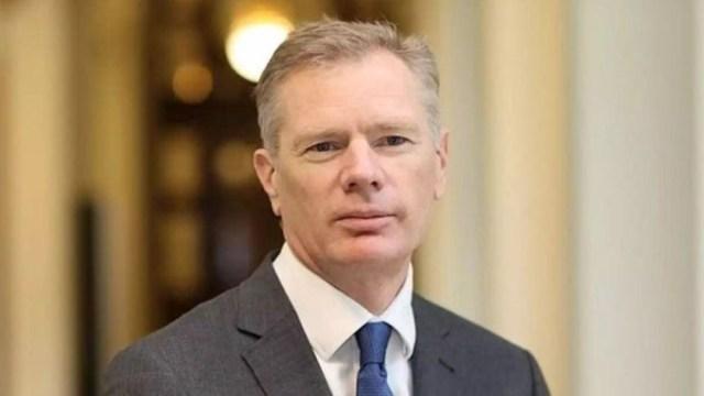 Foto: El embajador británico en Teherán, Robert Macaire
