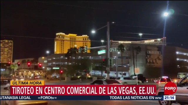 Foto: Tiroteo Fashion Show Mall Las Vegas Hoy 21 Enero 2020