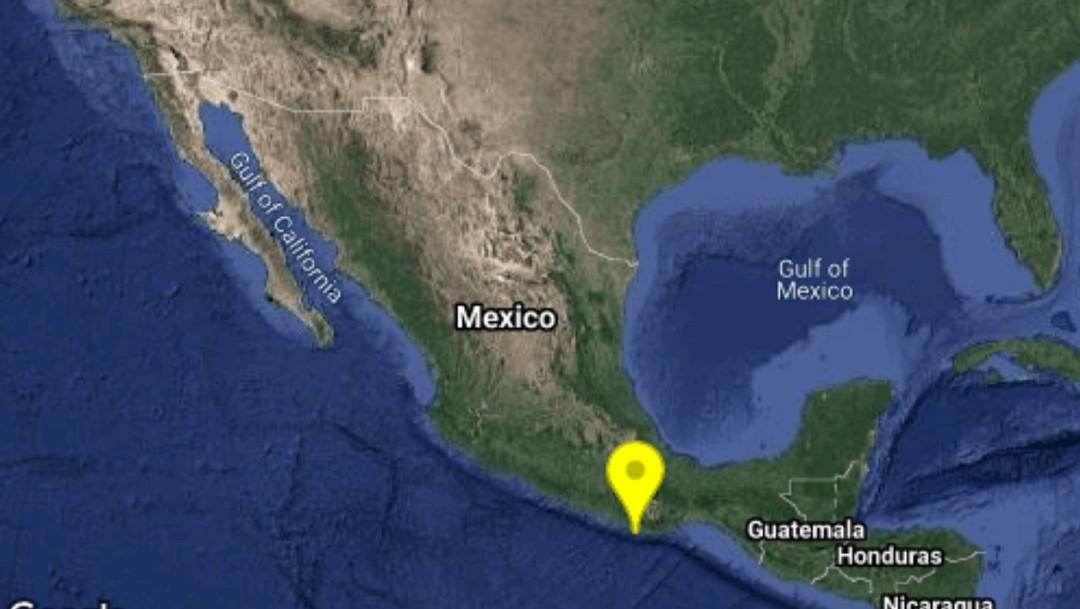 Ocurren dos sismos con epicentro en Puerto Escondido, Oaxaca