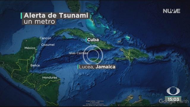 FOTO: semar levanto alerta de tsunami para q roo tras terremoto en el caribe