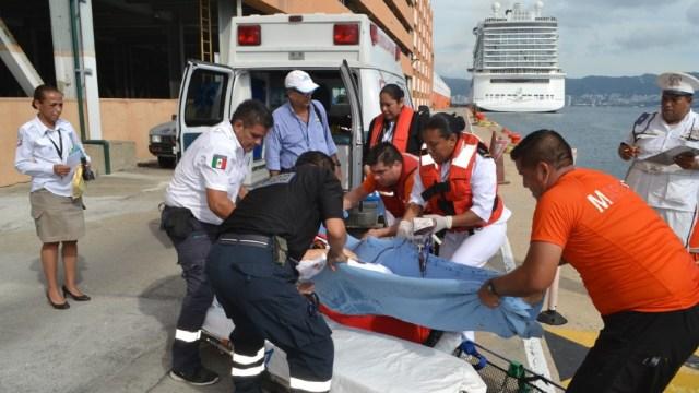 Foto: A bordo de un buque crucero turístico, la mujer presentó síntomas de anemia severa, motivo por el cual la SEMAR activó el 'Plan Marina Rescate' para auxiliar a la turista