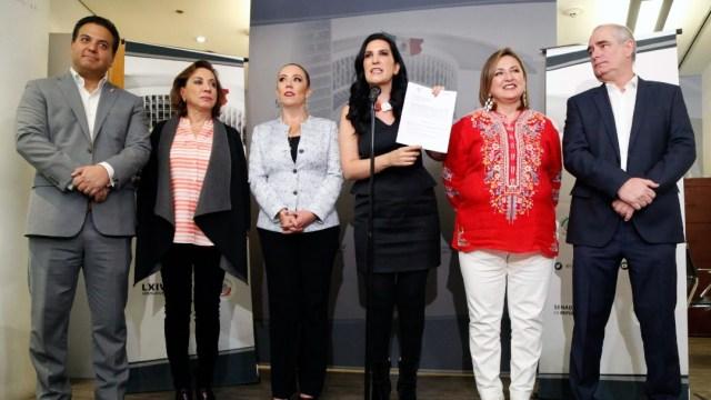 Senadores PAN anuncian iniciativa para la crisis en Insabi