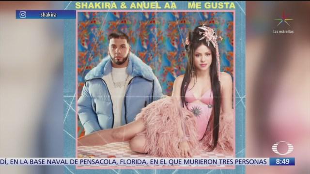 shakira estrena nuevo sencillo con anuel aa