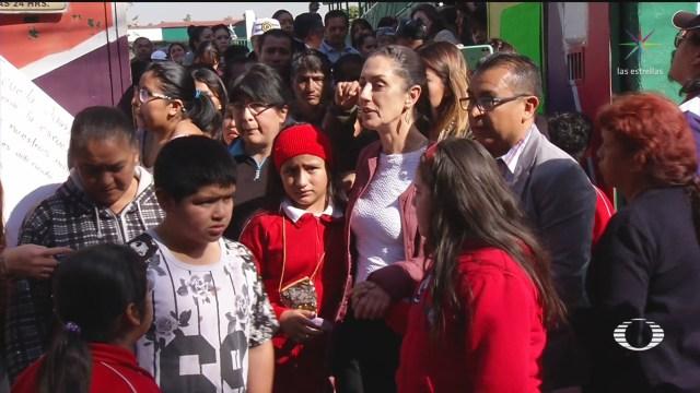 Foto: Sheinbaum Atiende Bloqueo Reforma CDMX Hoy 14 Enero 2020