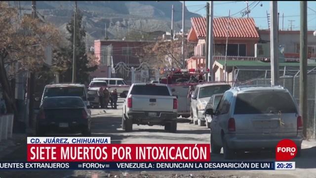 Foto: Siete Muertos Intoxicación Ciudad Juárez Chihuahua 21 Enero 2020