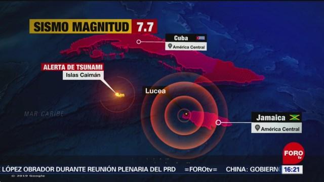 FOTO: sin afectaciones en mexico por sismo en costas del caribe pc