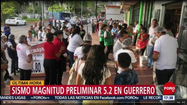 FOTO: sismo de magnitud 5 1 en guerrero se siente en la cdmx