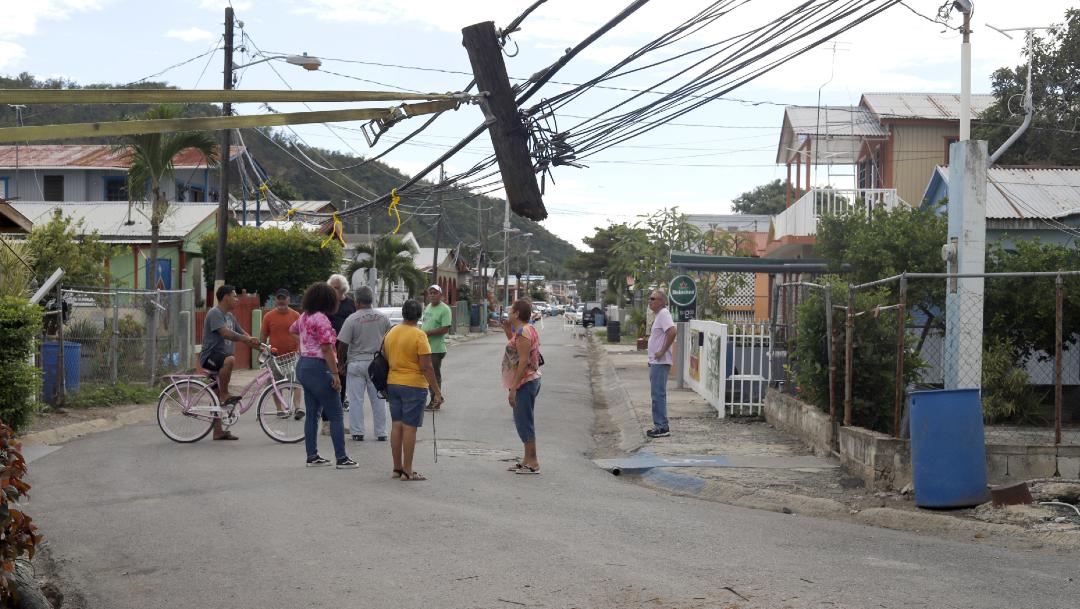 FOTO Declaran estado de emergencia en Puerto Rico tras sismo, hay un muerto (EFE)
