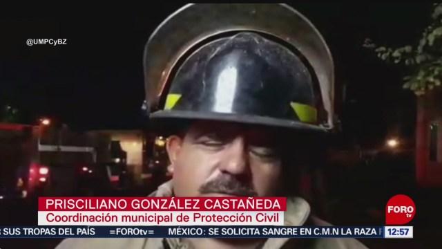 FOTO: 12 enero 2020, sofocan incendio en edificio de la sep en zapopan jalisco