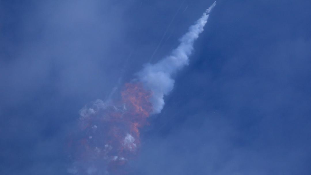 SpaceX prueba con éxito su sistema de expulsión de emergencia de astronautas