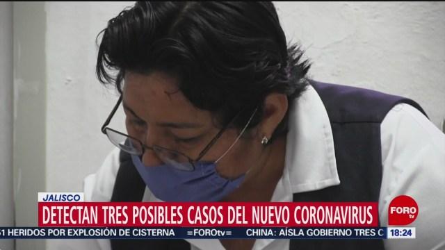 FOTO: ssa examina tres posibles casos de coronavirus en jalisco y uno en michoacan