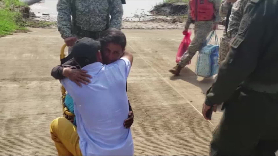 Rescatan familia que llevaba 30 días desaparecida en el Amazonas