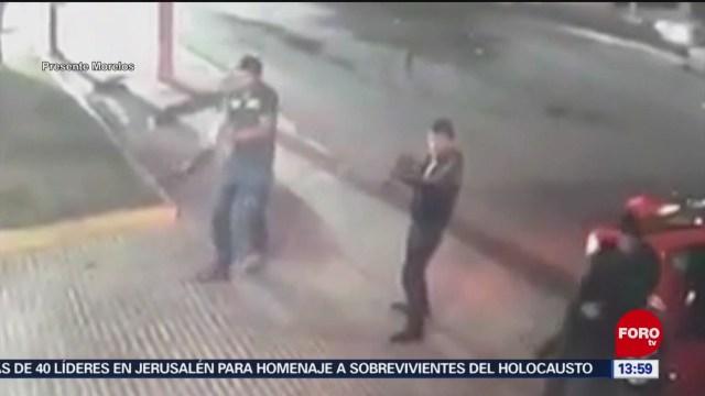 FOTO: sujetos descargan armas largas contra establecimiento en morelos