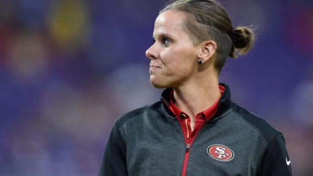 27/08/2017, 49ers: Katie Sowers será la primera entrenadora en ir a un Super Bowl