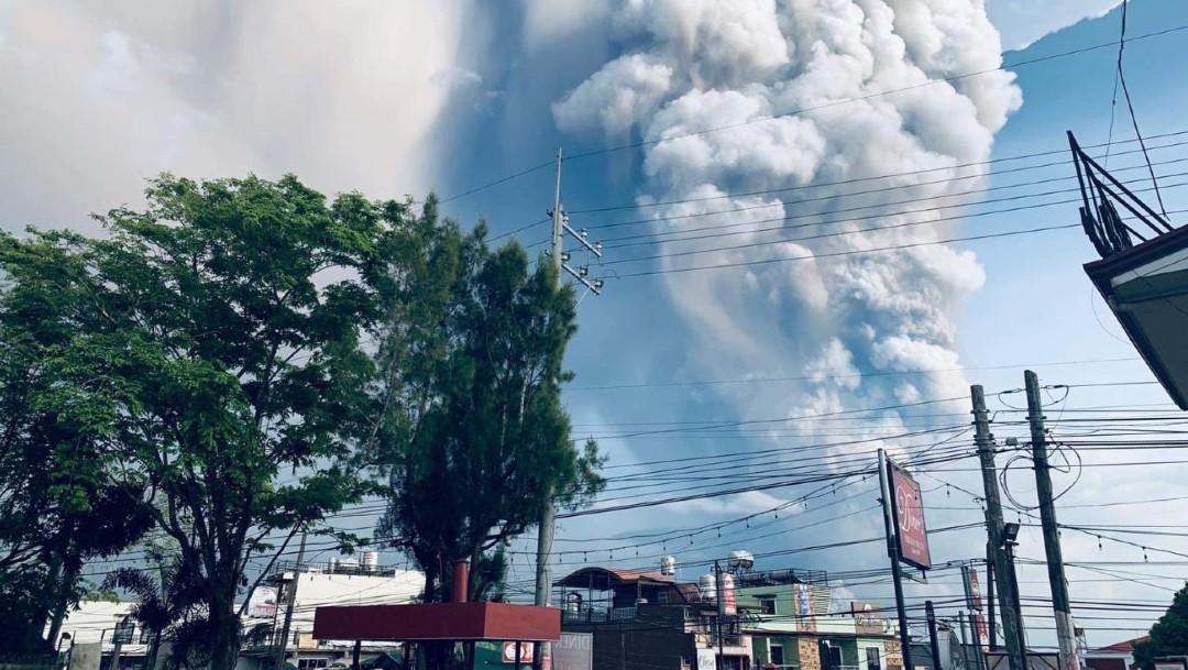 Foto: En Filipinas, los desplazados están refugiados en 45 centros de evacuación habilitados por las autoridades en los municipios más afectados de la provincia de Batangas