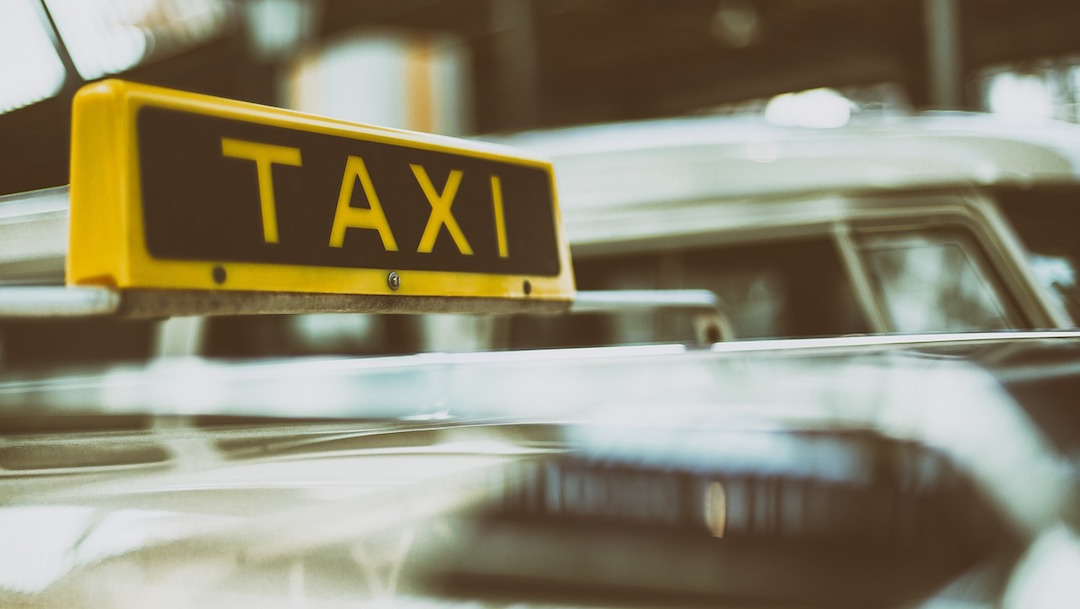 Foto Taxista Machete 4 Enero 2020