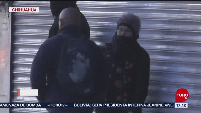 FOTO: 25 enero 2020, temperaturas de hasta menos ocho grados en chihuahua