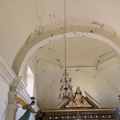 Imagen: Se espera que los trabajos de restauración se prolonguen a lo largo de un año y medio y se ejecuten con recursos federales y estatales.