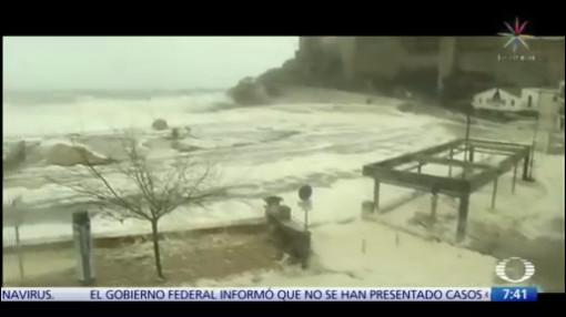 temporal azota a espana cuatro muertos