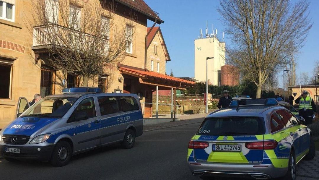 Foto: Los disparos ocurrieron en un edificio de la pequeña localidad de Rot am See, en Alemania, 24 enero 2020