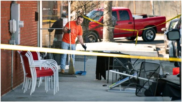 Foto: Dos personas murieron tras tiroteo en un bar de Carolina del Sur, 26 de enero de 2020 (AP)