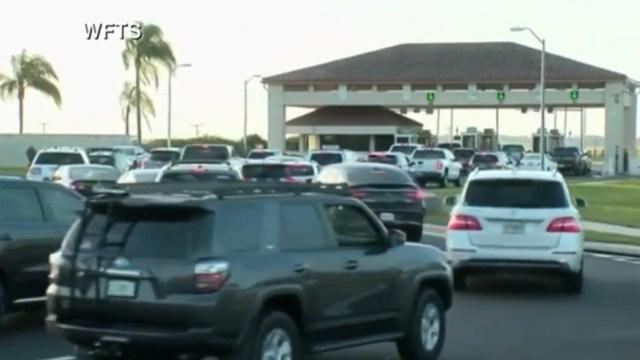 FOTO Tiroteo provoca cierre en base aérea de MacDill, Florida (CBS)