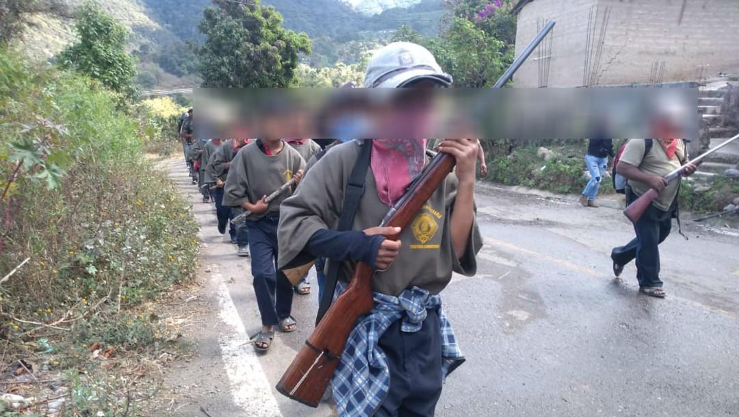 Tras muerte de músicos en Chilapa, niños son entrenados