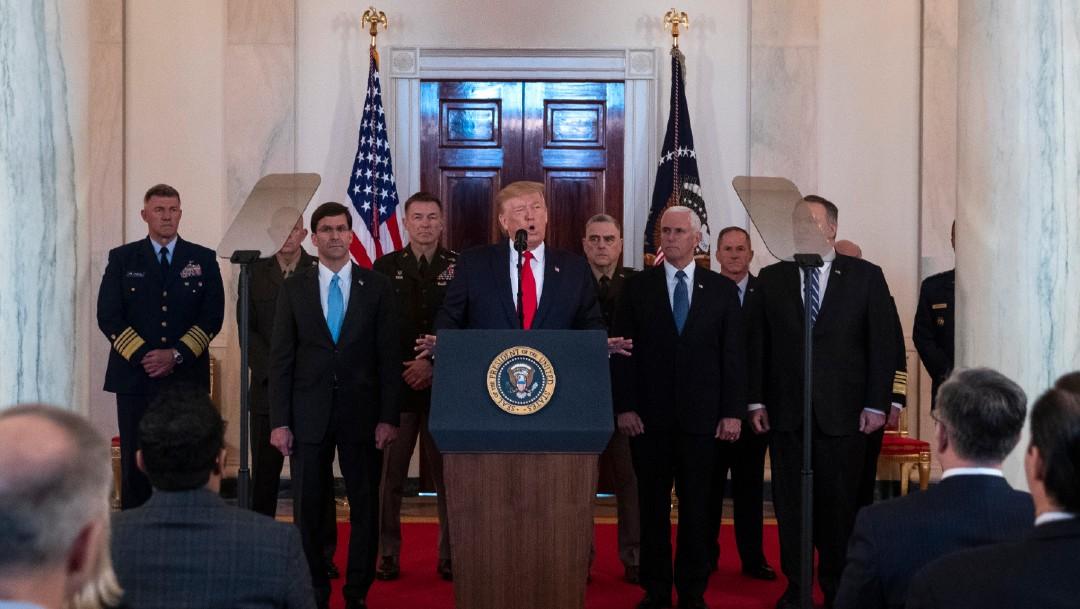 Foto: Trump a Irán: EE.UU. está listo para abrazar la paz; analiza sanciones económicas