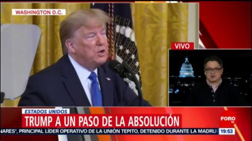 Foto: Donald Trump Absolución Juicio Político 31 Enero 2020