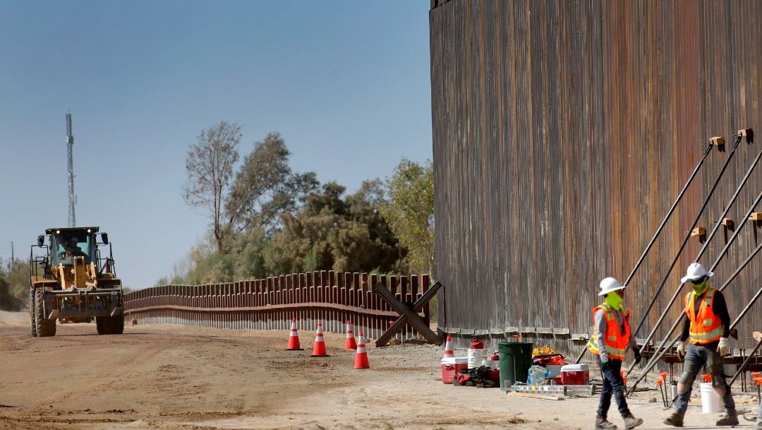 Foto: Trump agita polémica sobre el muro ante delegación mexicana en EEUU