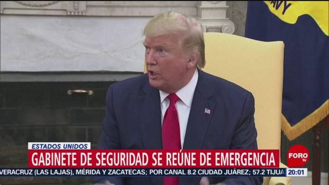Foto: Donald Trump Monitorea Ataques Iran Casa Blanca 7 Enero 2020