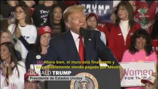 Foto: Trump México Pagando Muro Fronterizo 28 Enero 2020