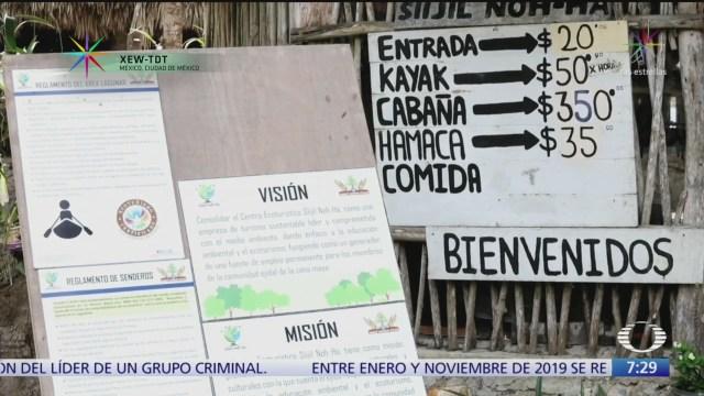 turismo que respeta el medio ambiente modelo en quintana roo