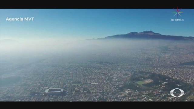 FOTO: 1 enero 2020, valle de toluca tiene mala calidad del aire tras pirotecnia