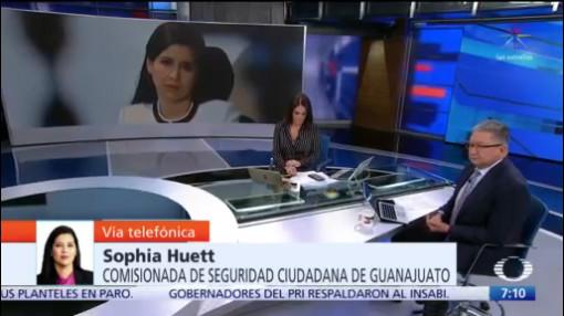 video entrevista completa con comisionada de seguridad de guanajuato