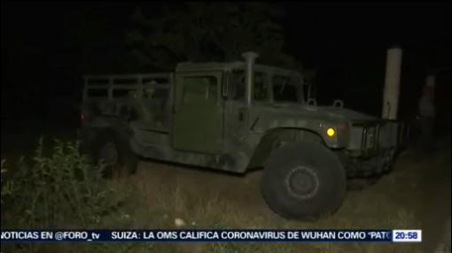 Foto: Volcadura Vehículo Ejército Deja 28 Lesionados 28 Enero 2020