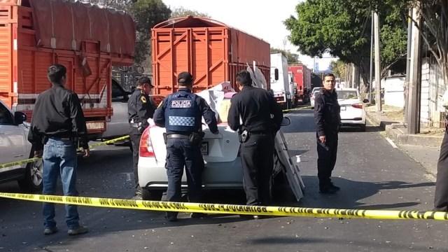 Balacera deja dos muertos en Periférico y Canal de Tezontle